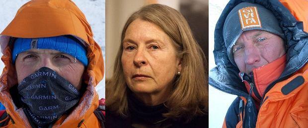 Simone Moro, Bernadette McDonald i Denis Urubko