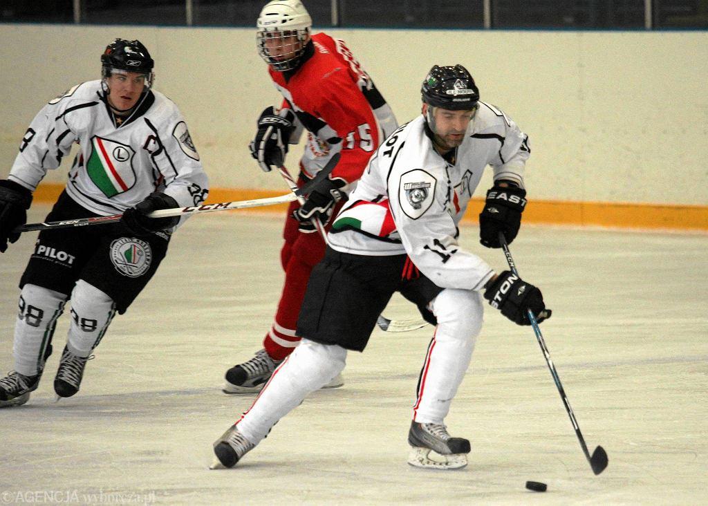 Mecz I ligi hokeja Legia - SMS II na Torwarze
