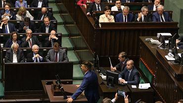 46. posiedzenie Sejmu VIII kadencji - pierwsze czytanie pisowskiej ustawy o ograniczeniu niezależności Sądu Najwyższego