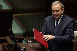Pomoc dla Ukrainy, przygotowania do przyj�cia euro i relacje polsko-rosyjskie [SCHETYNA W SEJMIE]