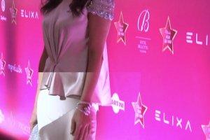 Weronika Rosati na imprezie Plejady. Najmodniejszy materiał sezonu nie uratował tej stylizacji