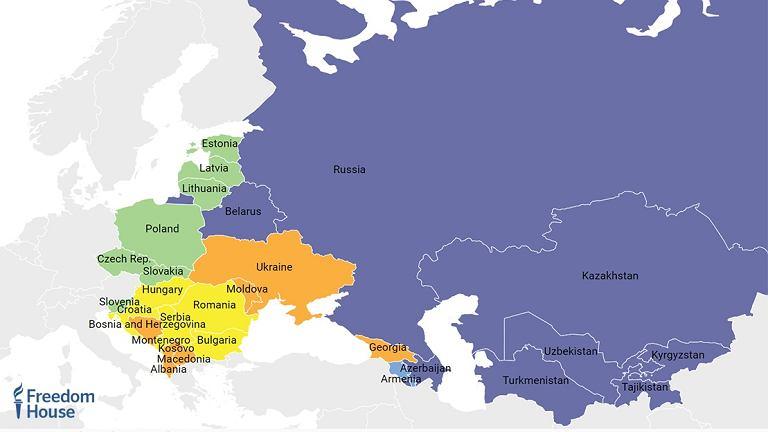 Polska w raporcie Freedom House