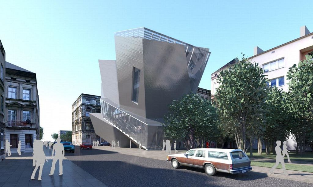 Łódź Architecture Center projektu Daniela Libeskinda / mat. pras.