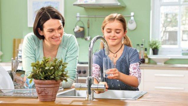 Filtrowana woda prosto z kranu