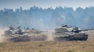 Październik 2015. Międzynarodowe ćwiczenia wojskowe Dragon 15 w Orzyszu