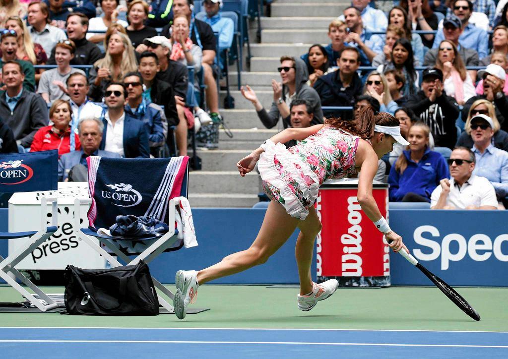 Zdjęcie numer 2 w galerii - Tenis. WTA w Hongkongu. Radwańska pewnie wygrywa pierwszy mecz
