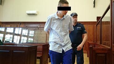 Damian L. ma 19 lat. Przyznał się do próby gwałtu na ciotce i do jej zabójstwa