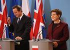 Premier Anglii z wizyt� w Polsce