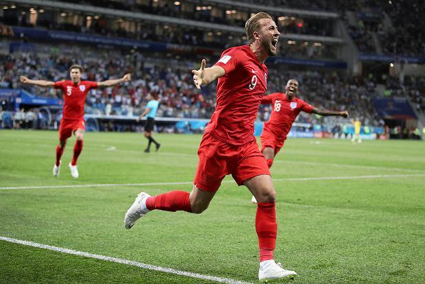 Harry Kane w meczu Tunezja-Anglia
