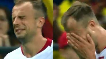 Kamil Grosicki popłakał się po meczu z Kolumbią