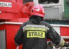 Pożar kamienicy w Poznaniu. 6 osób w szpitalu, 21 ewakuowanych