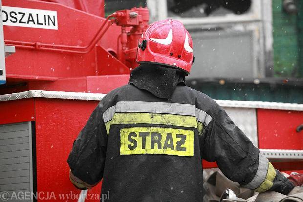 Gigantyczna plama oleju na Wiśle. Straż stawia zapory