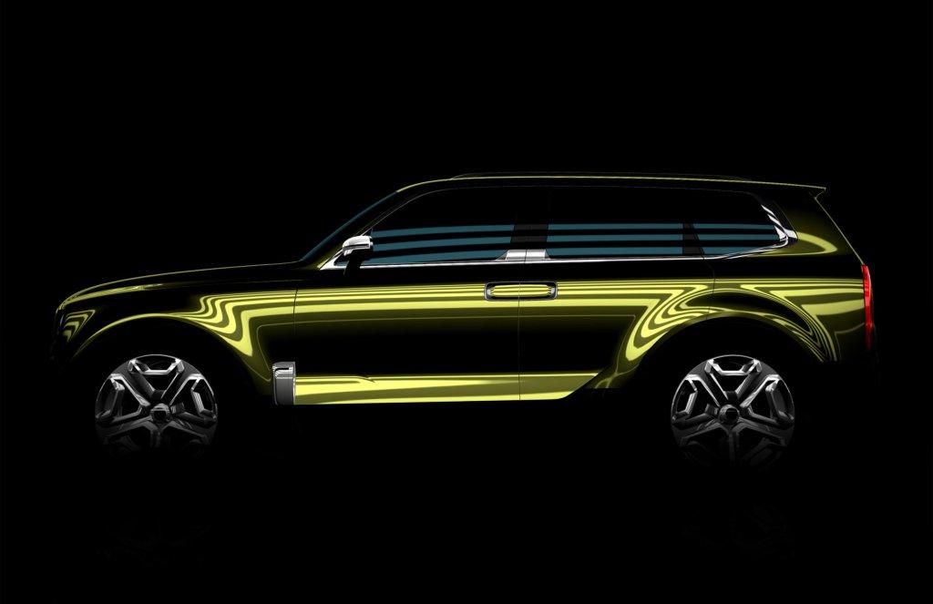 Zapowiedź tajemniczego SUV-a Kii (Detroit 2016)