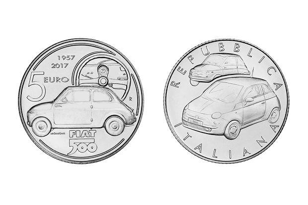 Fiat 500 doczekał się jubileuszowej monety