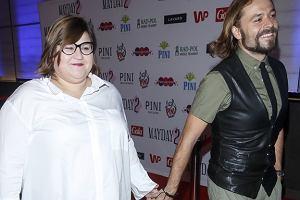 Dominika Gwit i Wojciech Dunaszewski na spektaklu 'Mayday 2'