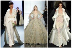 3cd960c6d9 Suknie ślubne 2015  ponad 30 propozycji z Tygodnia Mody Haute Couture   GALERIA