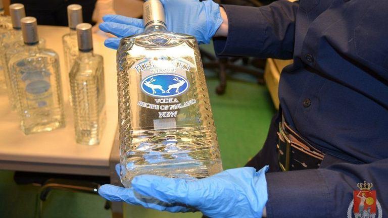 Podrabiany alkohol zatrzymany przez stołeczną policję