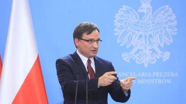Min. sprawiedliwości Zbigniew Ziobro