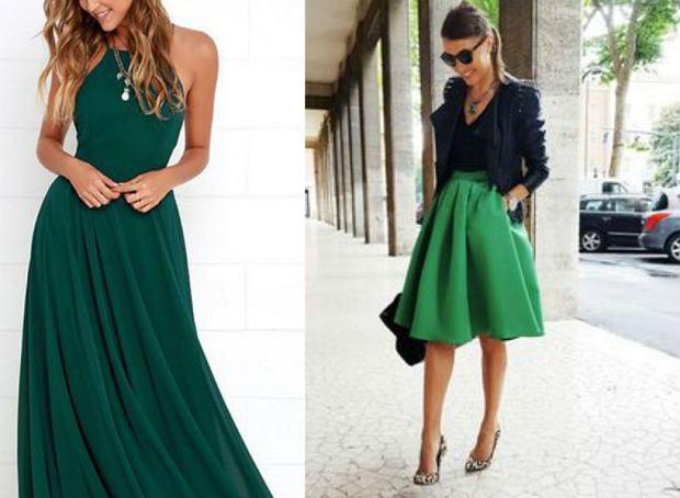 Zielone ubrania - czy mogą wyglądać elegancko?