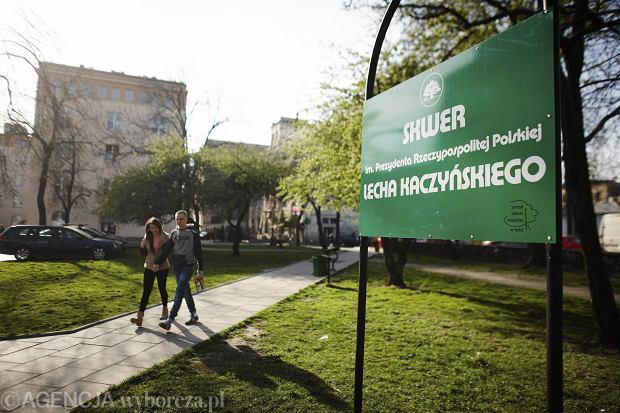 Nie b�dzie pomnika ani skweru Lecha Kaczy�skiego