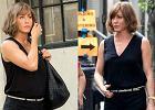Jennifer Aniston nie�le przyty�a. Czy�by by�a w CI��Y?