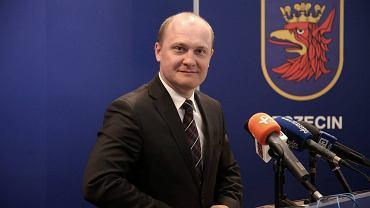 Prezydent Szczecina Piotr Krzystek