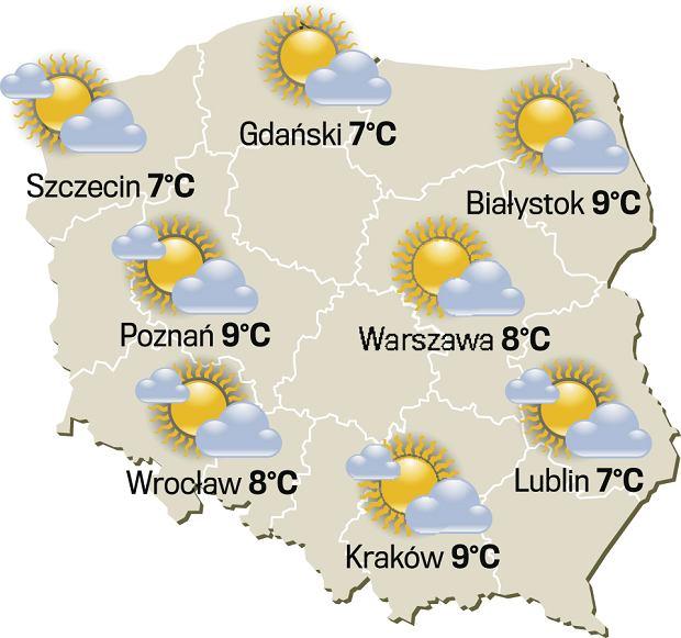 Pogoda dla wrażliwych, sobota 22 kwietnia 2017 r.
