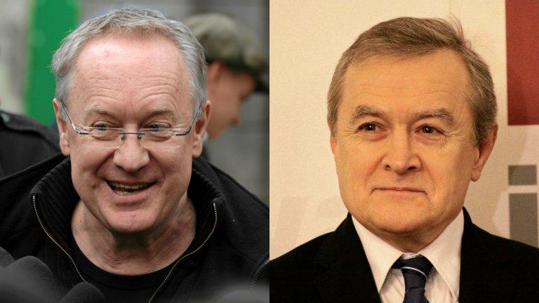 Reżyser Robert Gliński i wicepremier Piotr Gliński