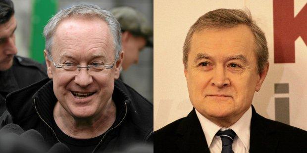 Re�yser Robert Gli�ski i wicepremier Piotr Gli�ski