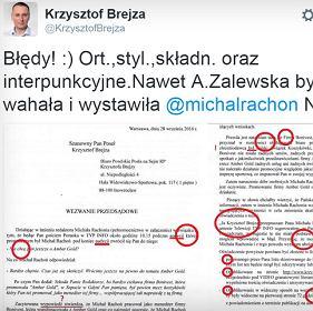 Takie pismo wys�ali pos�owi PO prawnicy Micha�a Rachonia (To jednak autentyk)