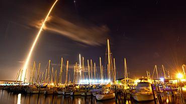 Start rakiety SpaceX z misją Zuma