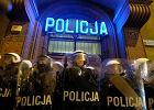 """Po """"czarnym proteście"""" w Poznaniu doniosły, że policja użyła siły. W prokuraturze usłyszały: """"Policjantów też mogą ponieść emocje"""""""
