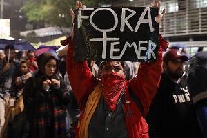 Demonstracje Brazylijczyków żądających odejścia i ukarania skorumpowanych polityków od maja  przetaczają się przez cały kraj