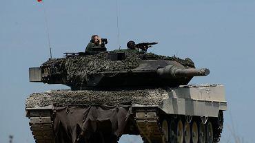 Obecnie najnowocześniejszy polski czołgi - Leopard 2A5