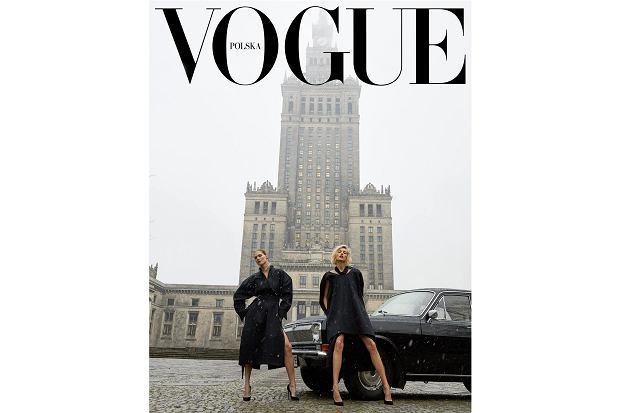"""Okładka pierwszego numeru """"Vogue Polska"""" w 10 odsłonach. Prostujemy Pałac!"""
