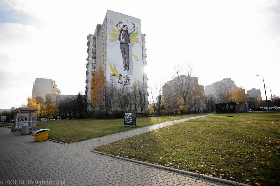 Ods oni to mural ze stanis awem anio em to posta jak for Mural alternatywy 4