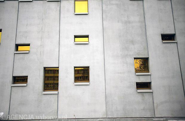 14.10.2014 Katowice . Budowa  budynku biurowego