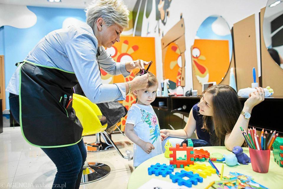 Manufaktura Sprawdziliśmy Jak Działa Salon Fryzjerski Dla Dzieci