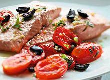 �oso� pieczony z pomidorami i oliw� cytrynow� - ugotuj