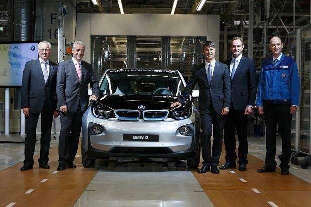 Elektryczne BMW i3 już w produkcji