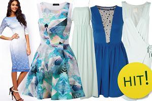 Sukienki w odcieniach niebieskiego - ponad 110 propozycji