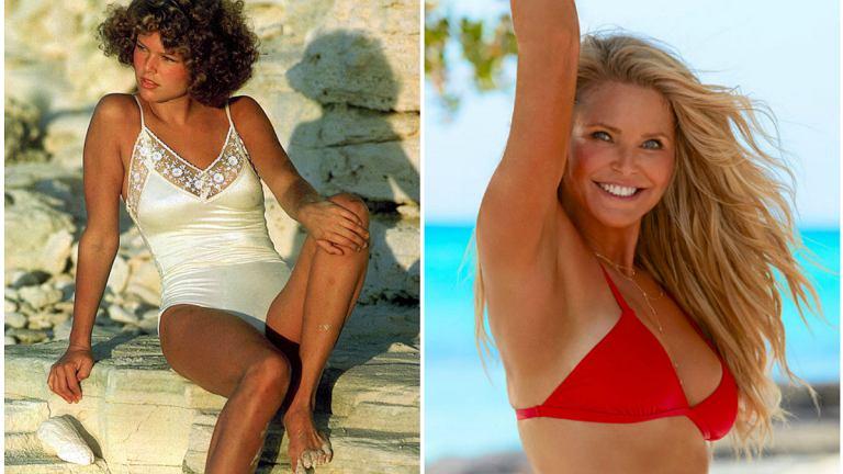 Christie Brinkley w 'Sports Illustrated': 1975 r. i 2017 r.