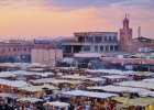 Maroko TOP 10: Marrakesz: Przeżyj noc z tysiąca i jednej baśni na placu Dżemaa el-Fna