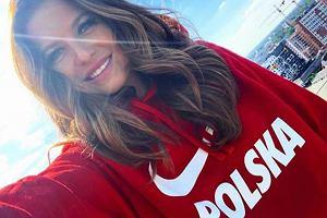 Anna Lewandowska wspiera Polskę na Mundialu 2018