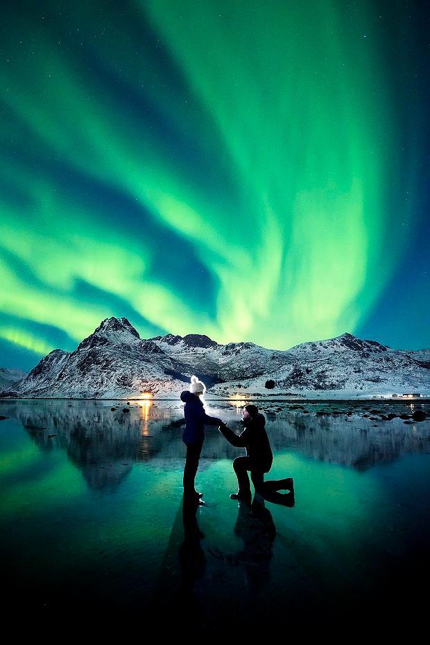 Zdjęcie z zaręczyn Dale'a i Karlie wzbudziło zachwyt na całym świecie