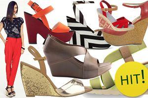 23ffd7202e509 HIT: sandały na koturnie - ponad 130 propozycji