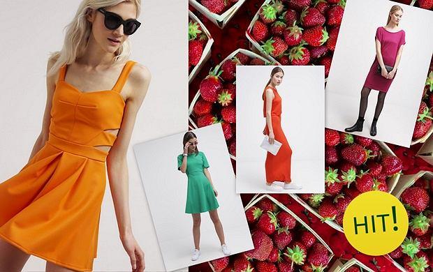 Sukienki na lato w soczystych kolorach