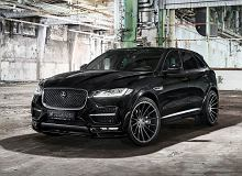 Tuning | Hamann F-Pace | Agresywny, wielki kot