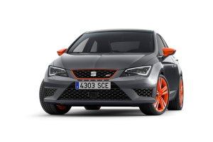 Seat Leon Cupra 280 Orange, Black i White Line | Wyr�nij si�