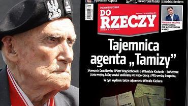"""Witold Kieżun, Okładka """"Do Rzeczy"""""""